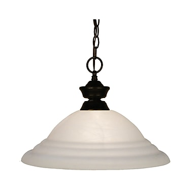 Z-Lite (100701BRZ-SW16) 1 Light Pendant, 16