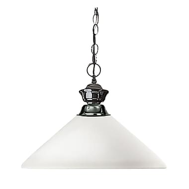 Z-Lite Shark (100701GM-AMO14) 1 Light Pendant, 14