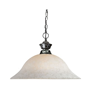 Z-Lite (100701GM-WM16) 1 Light Pendant, 16