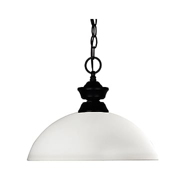 Z-Lite Shark/Windsor (100701MB-DMO14) 1 Light Pendant, 14