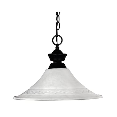 Z-Lite Shark (100701MB-FWM16) 1 Light Pendant, 16