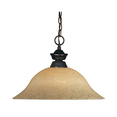 Z-Lite (100701OB-GM16) 1 Light Pendant, 16