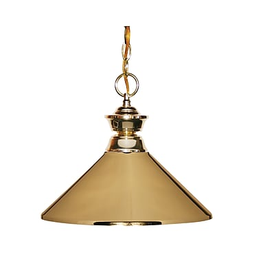 Z-Lite (100701PB-MPB) 1 Light Pendant, 14
