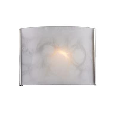 Z-Lite Ombra (1122-1S-NB) - Bras de lumière à une lumière, 4 po x 15 po x 6 p, nickel brossé