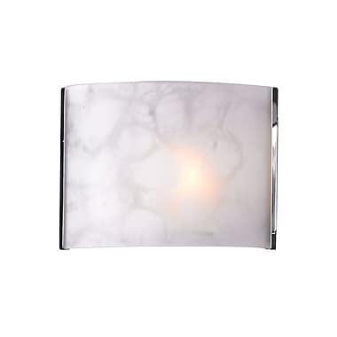 Z-Lite Ombra (1122-1S-CH) - Bras de lumière à une lumière, 4 po x 8 po x 6 po, chrome