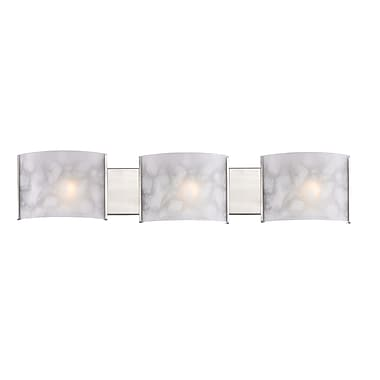 Z-Lite Ombra (1122-3V-BN) 3 Light Semi Flush Mount Light, 4