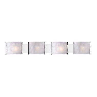 Z-Lite Ombra (1122-4V-CH) 4 Light Vanity Light, 4