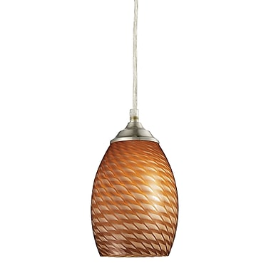 Z-Lite Jazz (131C-BN) 1 Light Mini Pendant, 5