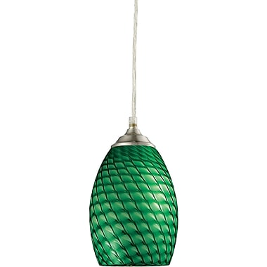Z-Lite Jazz (131G-BN) 1 Light Mini Pendant, 5