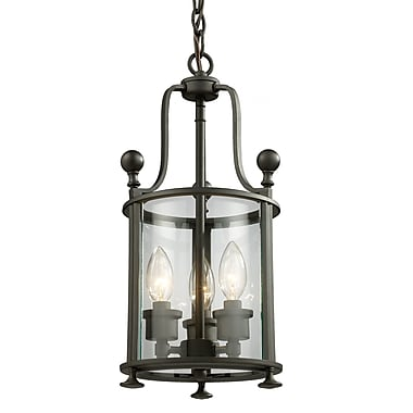Z-Lite Wyndham (135-3) 3 Light Pendant, 8.5
