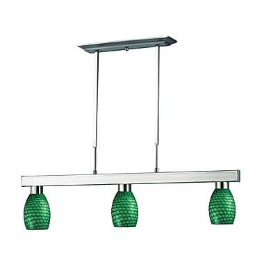 Z-Lite Cobalt (152BN-131GREEN) 3 Light Billiard, 42