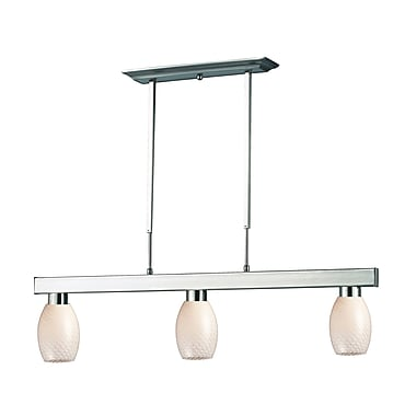 Z-Lite Cobalt (152BN-131WHITE) 3 Light Billiard, 42