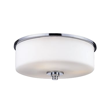 Z-Lite Ibis (163F-2) 2 Light Flush Mount , 11