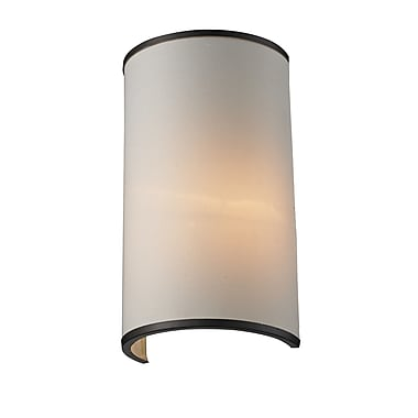 Z-Lite Cameo (165-1S) 1 Light Wall Sconce, 4.5