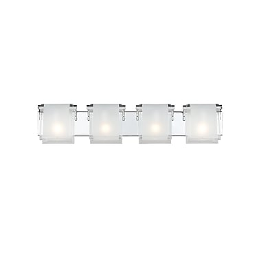 Z-Lite Zephyr 169-4V, 4 Light Vanity, 4.53