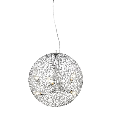 Z-Lite Saatchi (175-18) 6 Light Pendant, 18