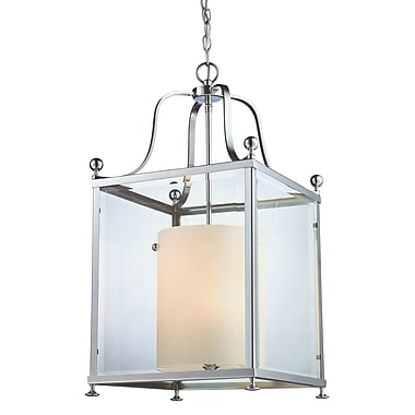 Z-Lite Fairview (176-6) - Suspension à six lumières, 15,5 po x 29,5 po, chrome