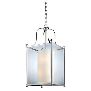 Z-Lite Fairview (176-8) - Suspension à huit lumières, 18,5 po x 43,5 po, chrome