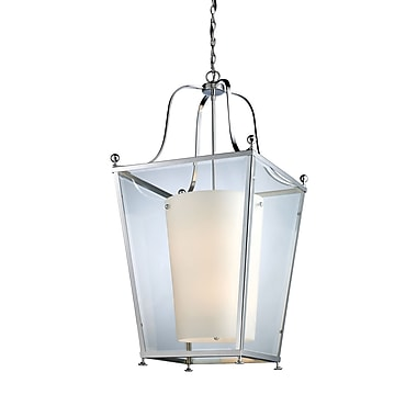 Z-Lite Ashbury (178-6) - Suspension à six lumières, 18,5 po x 35 po, chrome