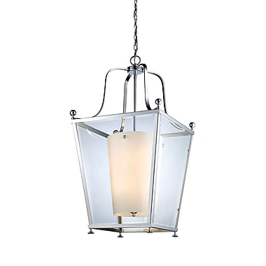 Z-Lite Ashbury (178-8) - Suspension à huit lumières, 21 po x 41,75 po, chrome