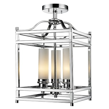 Z-Lite Altadore (180SF) 3 Light Semi Flush Mount, 10.63