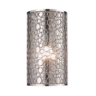 Z-Lite Saatchi (185-1S) 1 Light Wall Sconce, 4.25