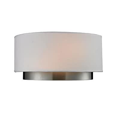 Z-Lite Jade (186-2S) 2 Light Wall Sconce, 4.75