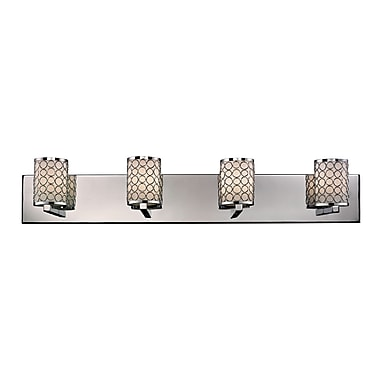 Z-Lite Synergy (199-4V) 4 Light Vanity Light, 4.75