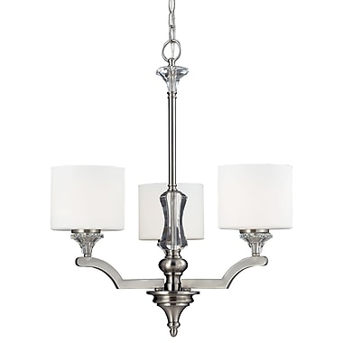 Z-Lite Avignon (2000-3) 3 Light Chandelier, 22