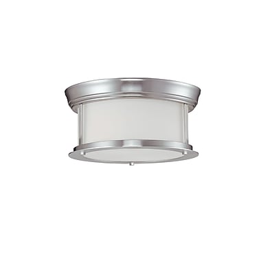 Z-Lite Sonna (2002F10-BN) 2 Light Ceiling, 10.75