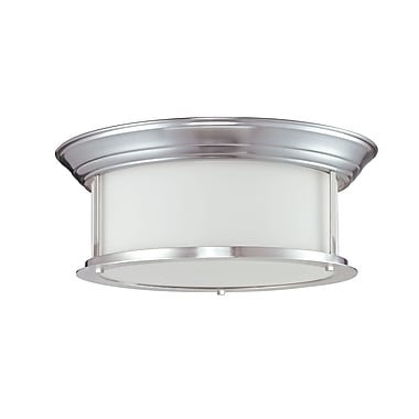 Z-Lite Sonna (2002F16-BN) 3 Light Ceiling, 15.5