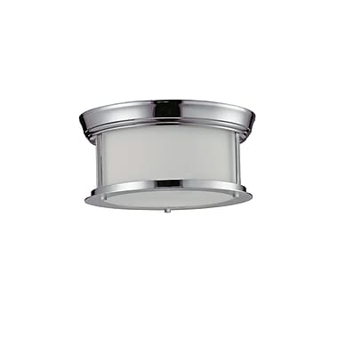 Z-Lite Sonna (2003F10-CH) 2 Light Ceiling, 10.75