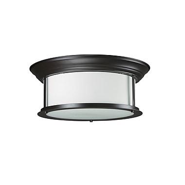 Z-Lite Sonna (2004F16-BRZ) 3 Light Ceiling, 15.5