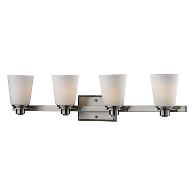 Z-Lite Nile (2100-4V) 4 Light Vanity Light, 6