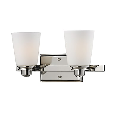 Z-Lite Nile (2101-2V) 2 Light Vanity Light, 6
