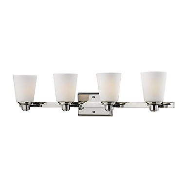 Z-Lite Nile (2101-4V) 4 Light Vanity Light, 6