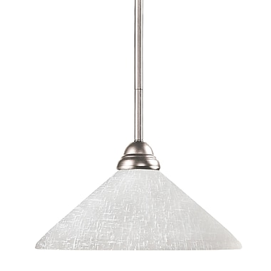 Z-Lite Riviera (2110MP-BN-AWL14) 1 Light Pendant, 14