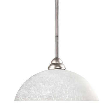 Z-Lite Riviera (2110MP-BN-DWL14) 1 Light Pendant, 14