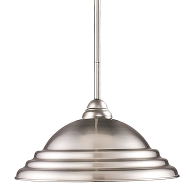 Z-Lite Martini 2110MP-BN-SBN, 1 Light Pendant Light, 16