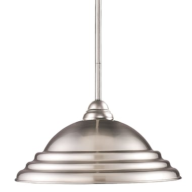 Z-Lite Riviera (2110MP-BN-SPT) 1 Light Pendant, 16