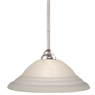 Z-Lite Riviera (2110MP-BN-SW16) 1 Light Pendant, 16
