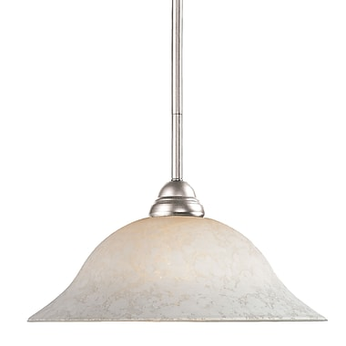 Z-Lite Riviera (2110MP-BN-WM16) 1 Light Pendant, 16