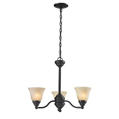 Z-Lite Athena (2114-3) 3 Light Chandelier, 20