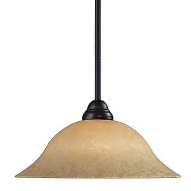 Z-Lite Cobra (2114MP-BRZ-GM16) 1 Light Pendant, 16