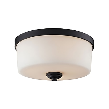 Z-Lite Arlington (220F3) 3 Light Flush Mount, 13.88