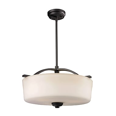 Z-Lite Arlington (220P) 3 Light Pendant, 17.88