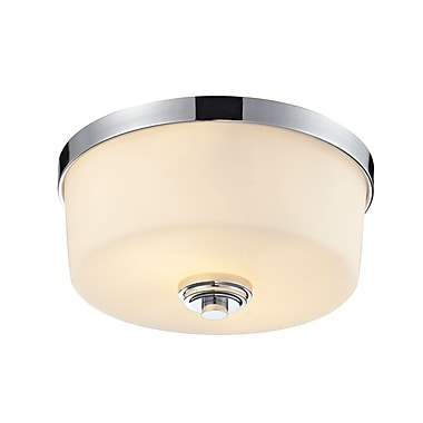 Z-Lite Lamina (225F2) 2 Light Flush Mount Light, 12.13