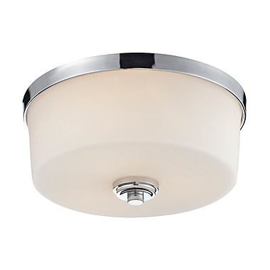 Z-Lite Lamina (225F3) 3 Light Flush Mount Light, 13.88