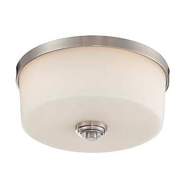 Z-Lite Lamina (226F3) 3 Light Flush Mount Light, 13.88