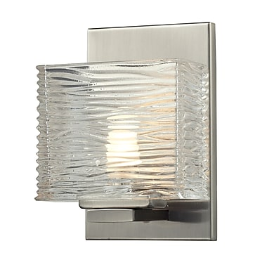 Z-Lite Jaol (3024-1V) 1 Light Vanity Light, 3.75
